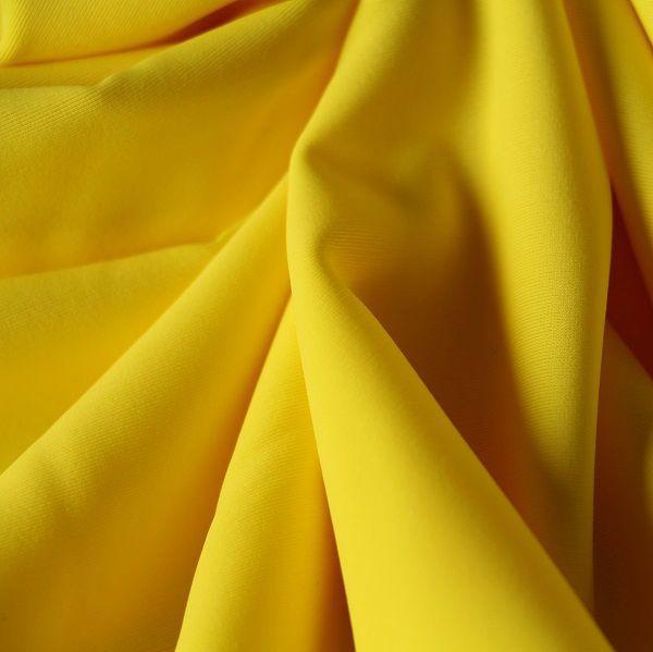 Badestoff glatt in gelb