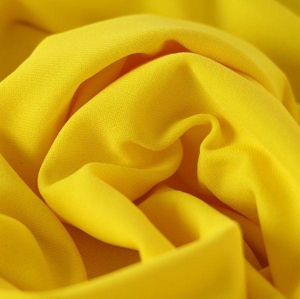 Badestoff matt kettgewirkt in gelb