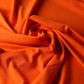 Badestoff matt kettgewirkt in orange
