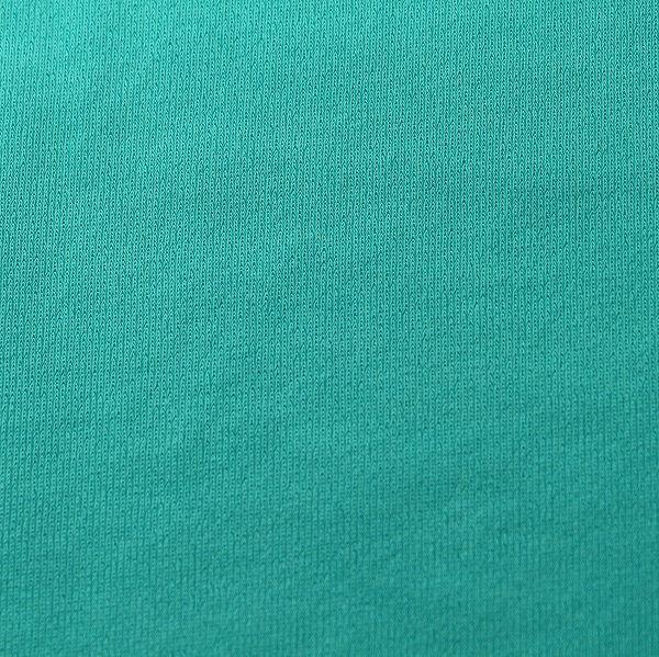 Badestoff matt kettgewirkt in seegrün