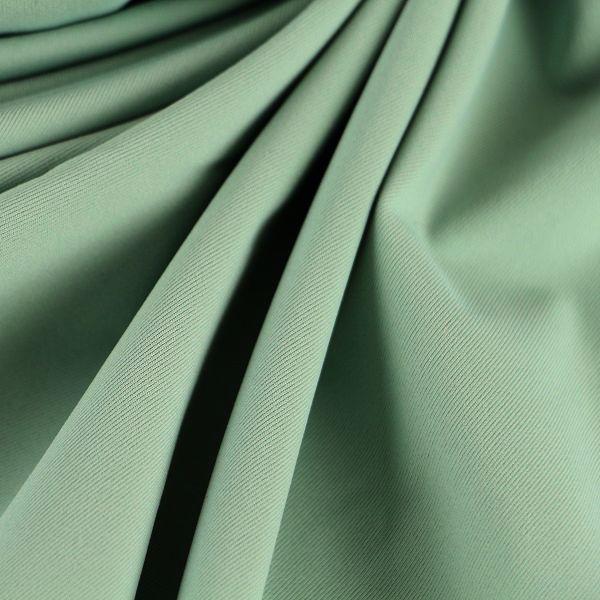 Microfaser Jersey glatt matt in hellem seegrün
