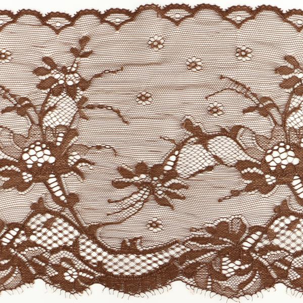Wirkspitze Band breit elastisch in chocolate