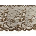 Wirkspitze Band breit elastisch in nussbraun