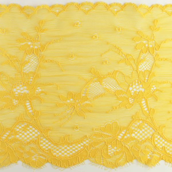 Wirkspitze Band breit elastisch in goldgelb