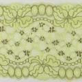 Wirkspitze Band breit elastisch in pistazie graubraun