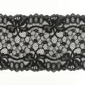 Wirkspitze Band breit elastisch in schwarz