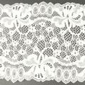 Wirkspitze Band breit elastisch in weiss