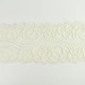 Spitzenband elastisch in creme
