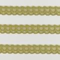 Spitzenband schmal elastisch in anisgrün