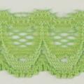 Spitzenband schmal elastisch in hellgrün