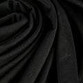 Viskose Jersey matt fein in schwarz