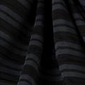 Microfaser Jersey glatt fein in schwarz dunkelgrau transparent