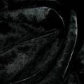 Stretchsamt schwarz