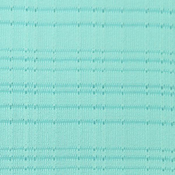 Viskose Jersey matt fein in türkis hell strukturiert