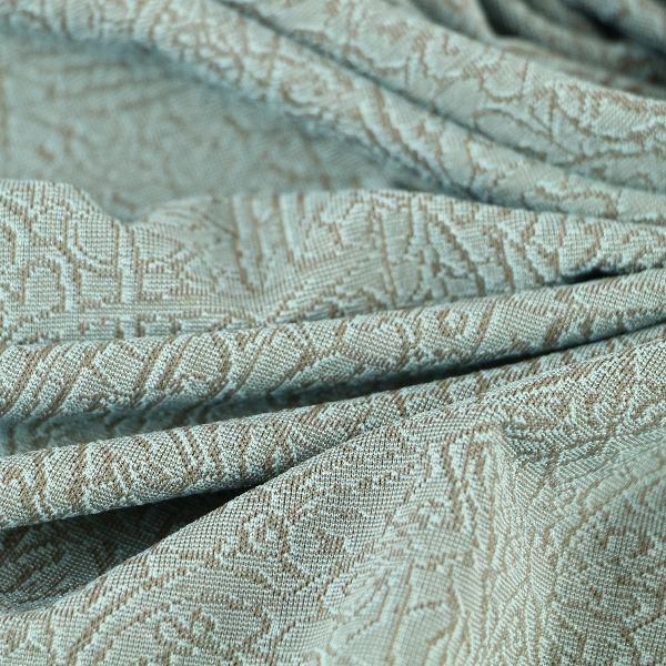 Viskose Jersey matt fein in graugrün braun