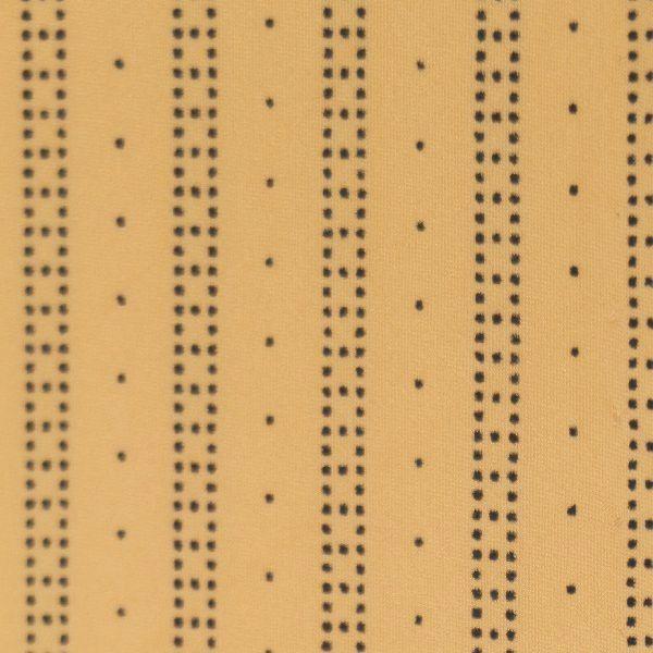 Microfaser Jersey sehr fein matt in haut schwarz