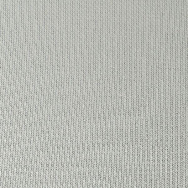 Baumwoll Pique matt strukturiert in hellgrau