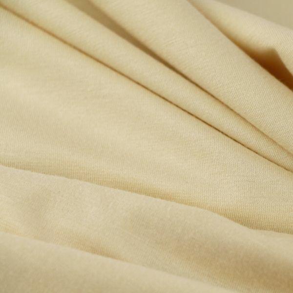 Micromodal Jersey fein glatt in creme